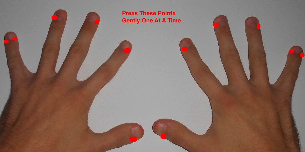 Acupressure Points for Sinus Congestion and Nasal Problems