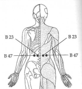 Easu Acupressure Points For Back Pain and Lower Back Aches