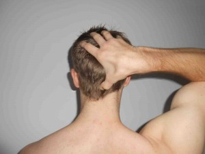 Acupressure Points on Back of Head